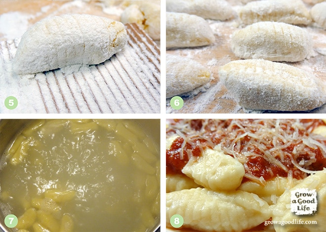 Auntie's Homemade Ricotta Gnocchi | Grow a Good Life