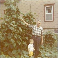 My Grandfather's Garden. That's me at age 2 | Grow a Good Life