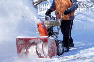 franken-snowblower