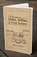 The Fiercely D.I.Y. Guide to Jams, Jellies, & Fruit Butters by Kathie Lapcevic is an amazing resource for both new and seasoned canners. It is filled with easy to follow canning instructions and over 13 unique recipes for making jams, jellies, and fruit butters. Available in both Printed Booklet and PDF eBook formats. > Click to learn more.