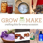 "Grow and Make has a mission of helping us ""grow"" and ""make"" more of what we consume and encouraging a more sustainable life style. Grow and Make provides a generous selection of high quality kits for DIY and crafting including bath and body, candle making, culinary, gardening, and preserving."