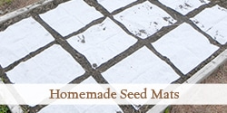 Seed mats are helpful for planting tiny seeds, such as lettuce and carrots that are hard to sow one at a time.