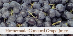Homemade Concord Grape Juice with No Added Sugar