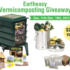 Eartheasy Vermicomposting Giveaway