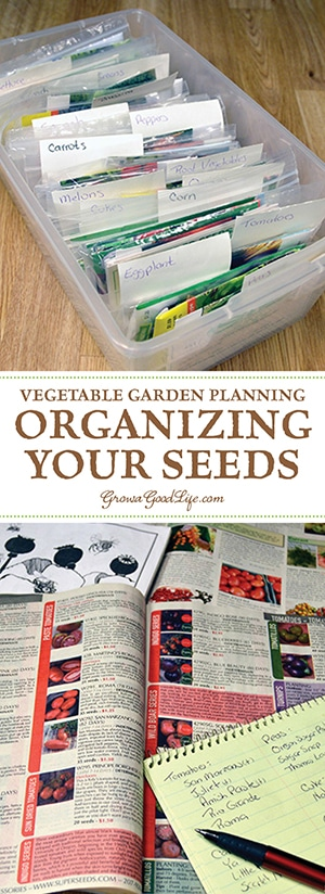 Winter is the perfect time to plan your vegetable garden. Once spring comes there is so much to do. It is helpful to have your seed inventory ready when it is time to plant them. Start by organizing your seeds so you can take inventory, test older seeds for germination, make a list of seeds to purchase, and place your seed order.