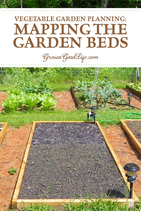 Mapping your vegetable garden before planting will help you see how many seedlings you need, where they will be planted, and how you can keep each bed producing all through the growing season.