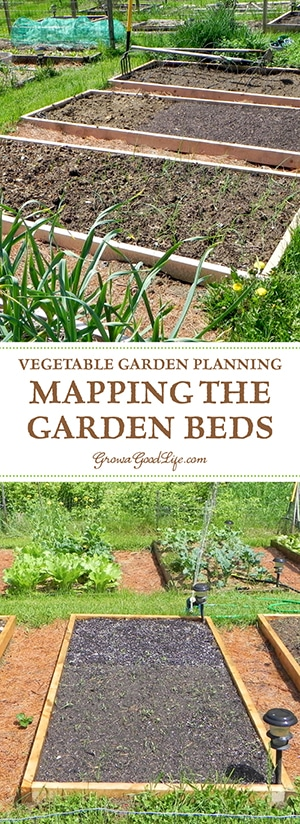 Before sowing a single seed, it is helpful to sketch a map of the garden so you know how many seedlings you will need, where they will be planted, and how you can keep each bed producing all through the growing season.