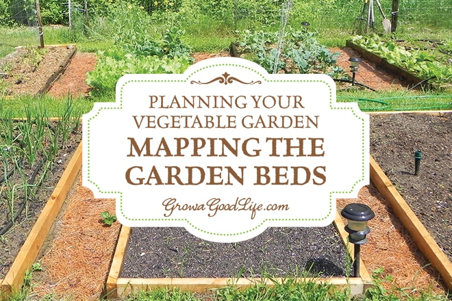 Planning your vegetable garden mapping the garden beds for Vegetable garden box layout