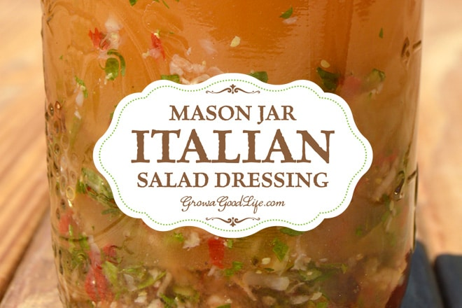 Mason Jar Italian Salad Dressing Recipe