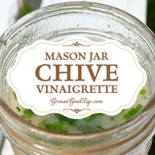 Making your own vinaigrette is easy when you begin with the key ratio of 2 parts oil to 1 part acid. This serves as a foundation for endless variations. Try this chive vinaigrette recipe.