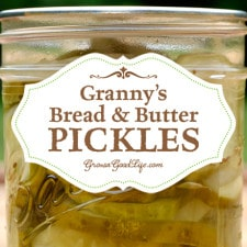 I never liked pickles until I tried Granny's Bread and Butter Pickles recipe. This pickle recipe won me over. If you know someone who doesn't like pickles, this recipe may just convert them into a pickle lover too.