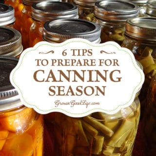 6 Tips to Prepare for Canning Season