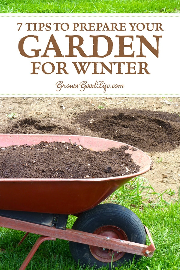 Taking the extra effort to clean up the vegetable garden beds in the fall makes it very easy to begin growing the following spring.