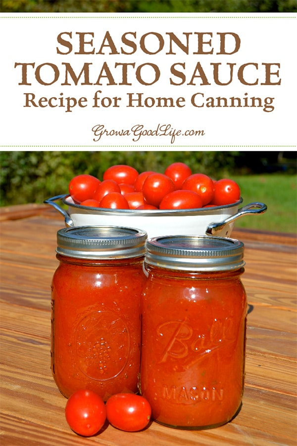 No Bought Tomato Sauce Compares With The Flavor Of Homemade Capture Summer In A