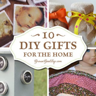 10+ DIY Gifts for the Home