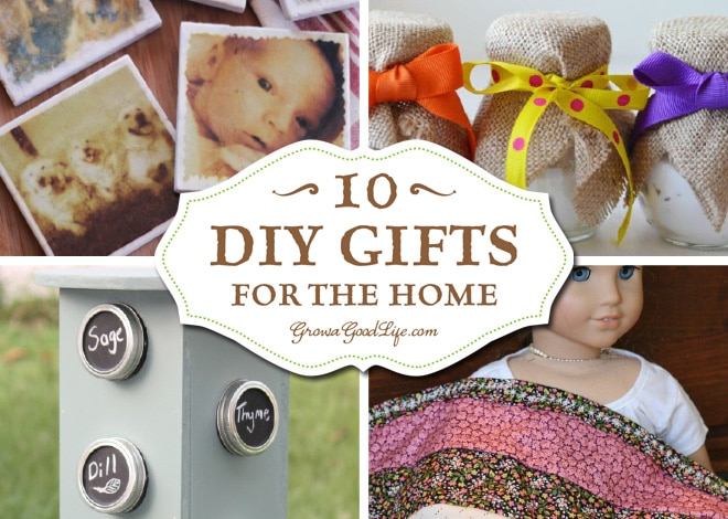 10 diy gifts for the home
