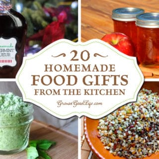 20+ Homemade Food Gifts from the Kitchen