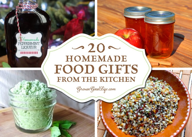 Create some homemade food gifts that everyone will enjoy. Need some ideas? Here are some culinary inspired presents that you can make in your kitchen.