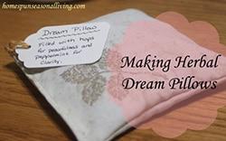 Herbal Dream Pillows - Homespun Seasonal Living