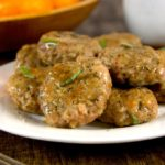 Homemade Breakfast Sausage Patties: These breakfast sausage patties are made with ground pork and flavored with fresh herbs and seasonings.
