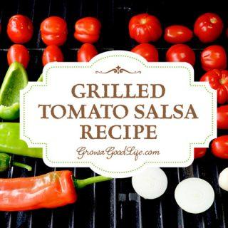 Grilled Tomato Salsa Recipe