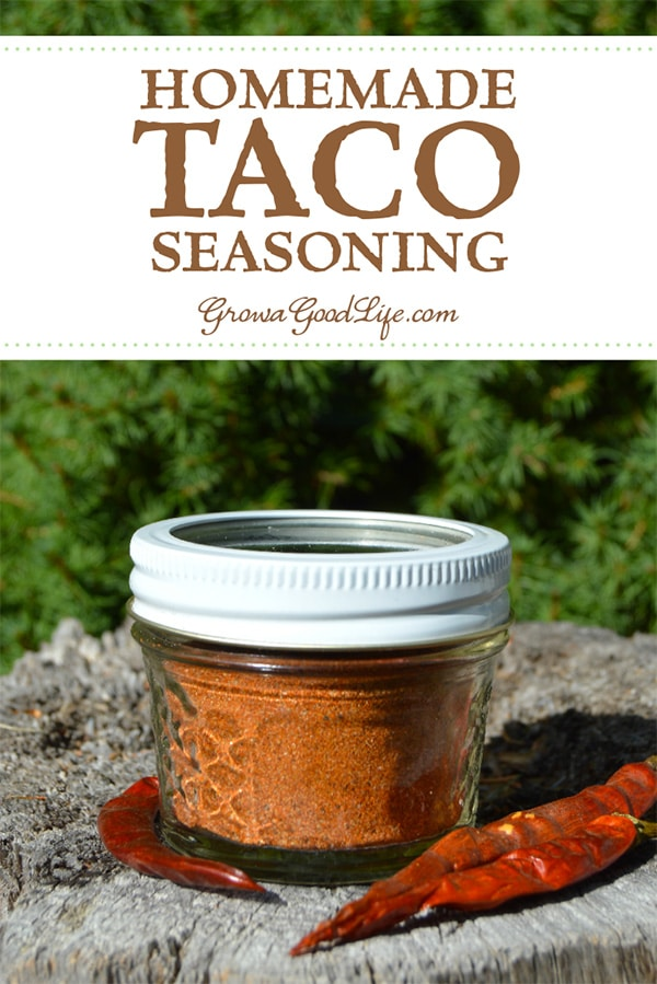 Mix up a batch of this taco seasoning and keep the jar in your pantry for a fast addition to your Mexican meals.