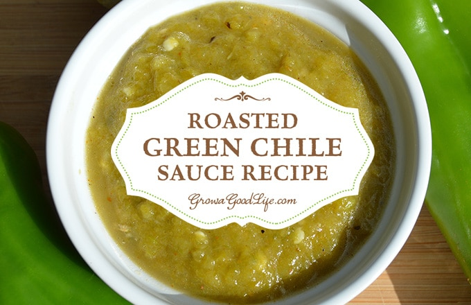 This roasted green chile sauce pairs perfectly with Mexican inspired dishes, including burritos, enchiladas, tamales, and more.