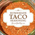 Replace store bought envelopes with this homemade taco seasoning mix and eliminate the mystery ingredients, anti-caking agents, and preservatives.