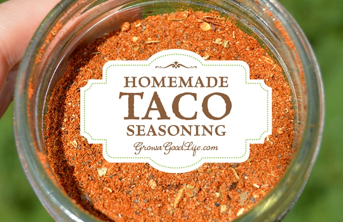 Replace store bought envelopes with this homemade taco seasoning mix ...