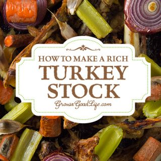 How to Make a Rich Turkey Stock