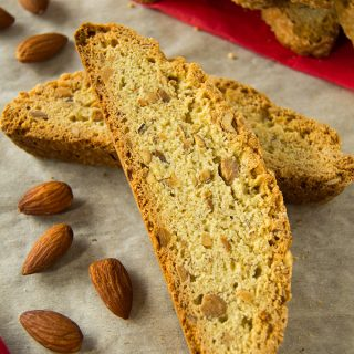 Toasted Almond Anise Biscotti Recipe