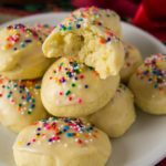 The unique flavor and appearance of these Italian anise cookies on the cookie tray at Christmas is a comforting treat of family traditions and warm memories for many of us raised with Italian elders. Even if you are not Italian, these cookies are a delicious addition to your holiday cookie tray.