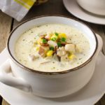This classic creamy, New England fish chowder uses simple ingredients and tastes like restaurant quality.