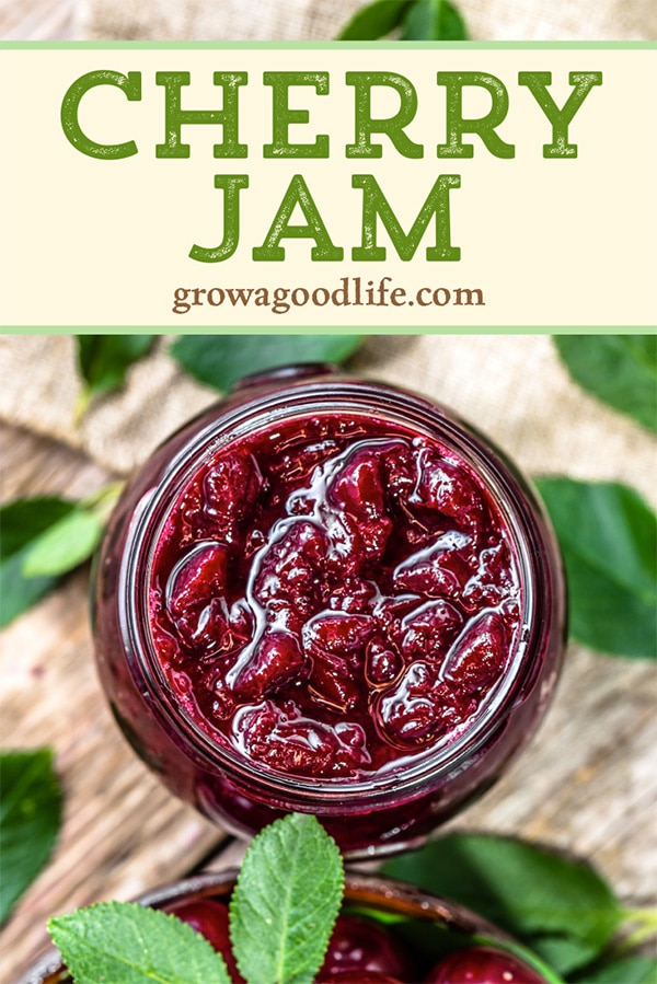 This chunky, low-sugar cherry jam is delicious slathered on toasted homemade bread, swirled in yogurt, or drizzled over ice cream. Less sugar lets the natural fruit flavor shine. Visit to see how to make and preserve cherry jam.