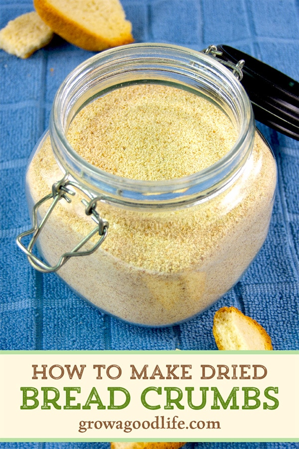 Homemade bread crumbs are easy to make and a great way to use up leftover bread. Dried bread crumbs add crunch as a topping for casseroles, help bind ingredients for meatballs, and are an essential breading for extra crispy chicken fingers.