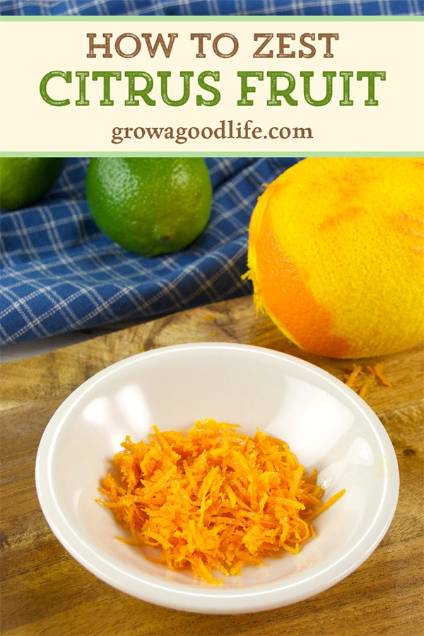 Zest citrus fruit to take full advantage of extra concentrated citrus flavor to boost your recipes. Freeze it and you'll always have zest on hand.