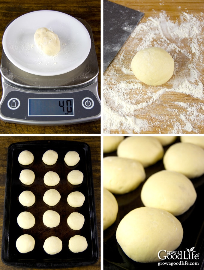 Steps to make slider buns