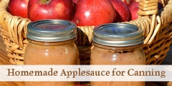 Applesauce for Home Canning