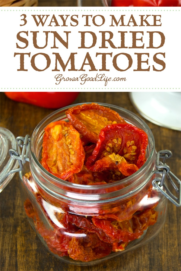 No sunshine required to make these homemade sun dried tomatoes. Learn how to make sun dried tomatoes in the sun, oven, and food dehydrator.