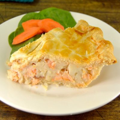 French-Canadian Salmon Pie