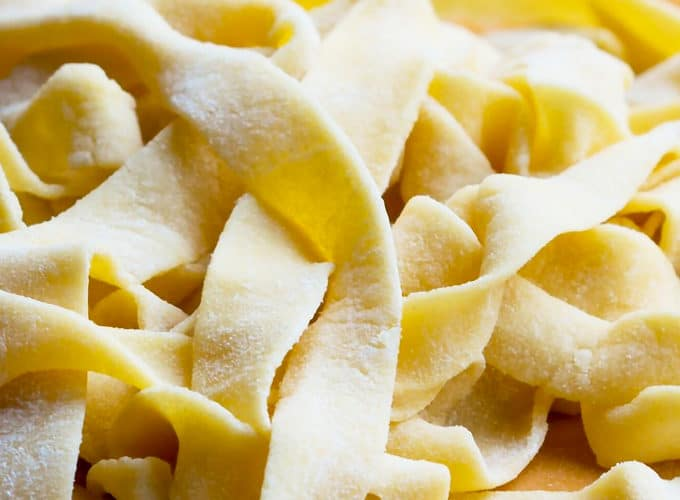Fresh pasta is easy to make from scratch with just a few basic ingredients. Feed your craving for comfort foods by making homemade pasta from scratch with this simple recipe and tutorial.