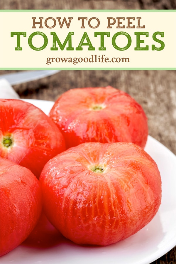 peeled tomatoes on a plate pic